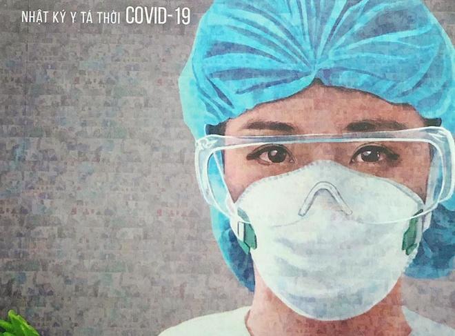 Hoa hau ao dai goc Viet viet sach Covid-19 anh 1