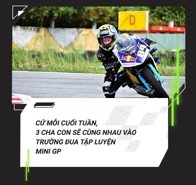 Cau be 7 tuoi uoc mo tro thanh tay dua Moto GP dau tien tai VN hinh anh 8