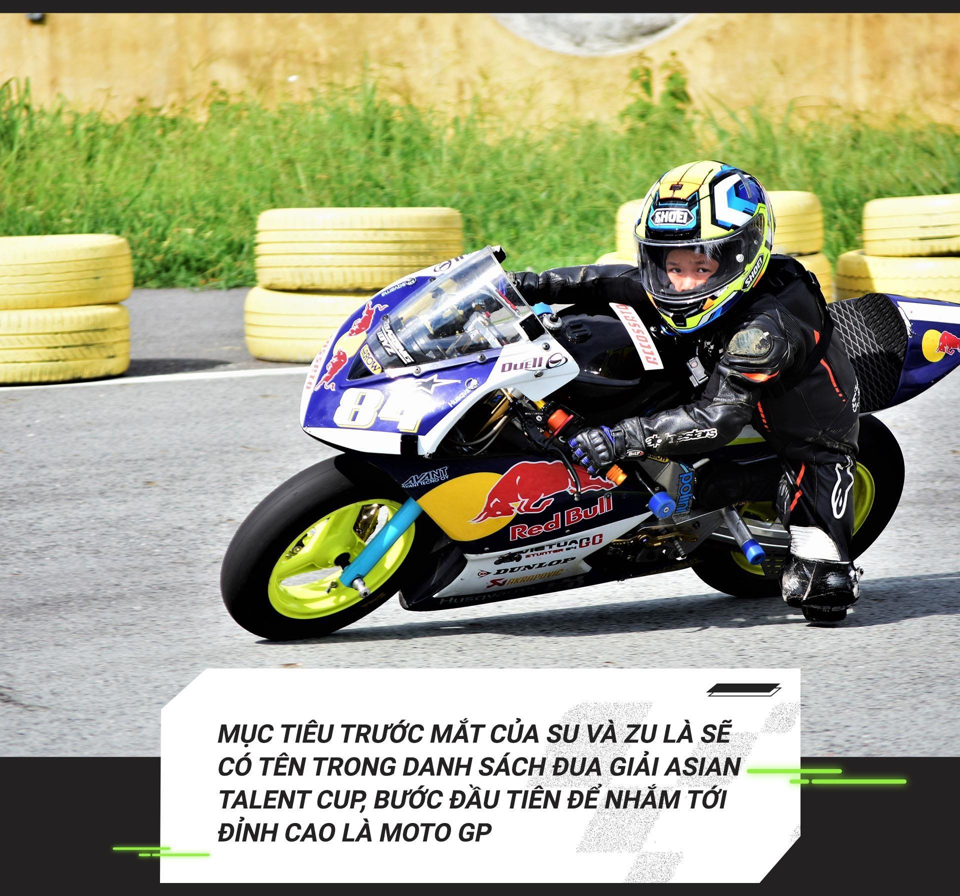Cau be 7 tuoi uoc mo tro thanh tay dua Moto GP dau tien tai VN hinh anh 20