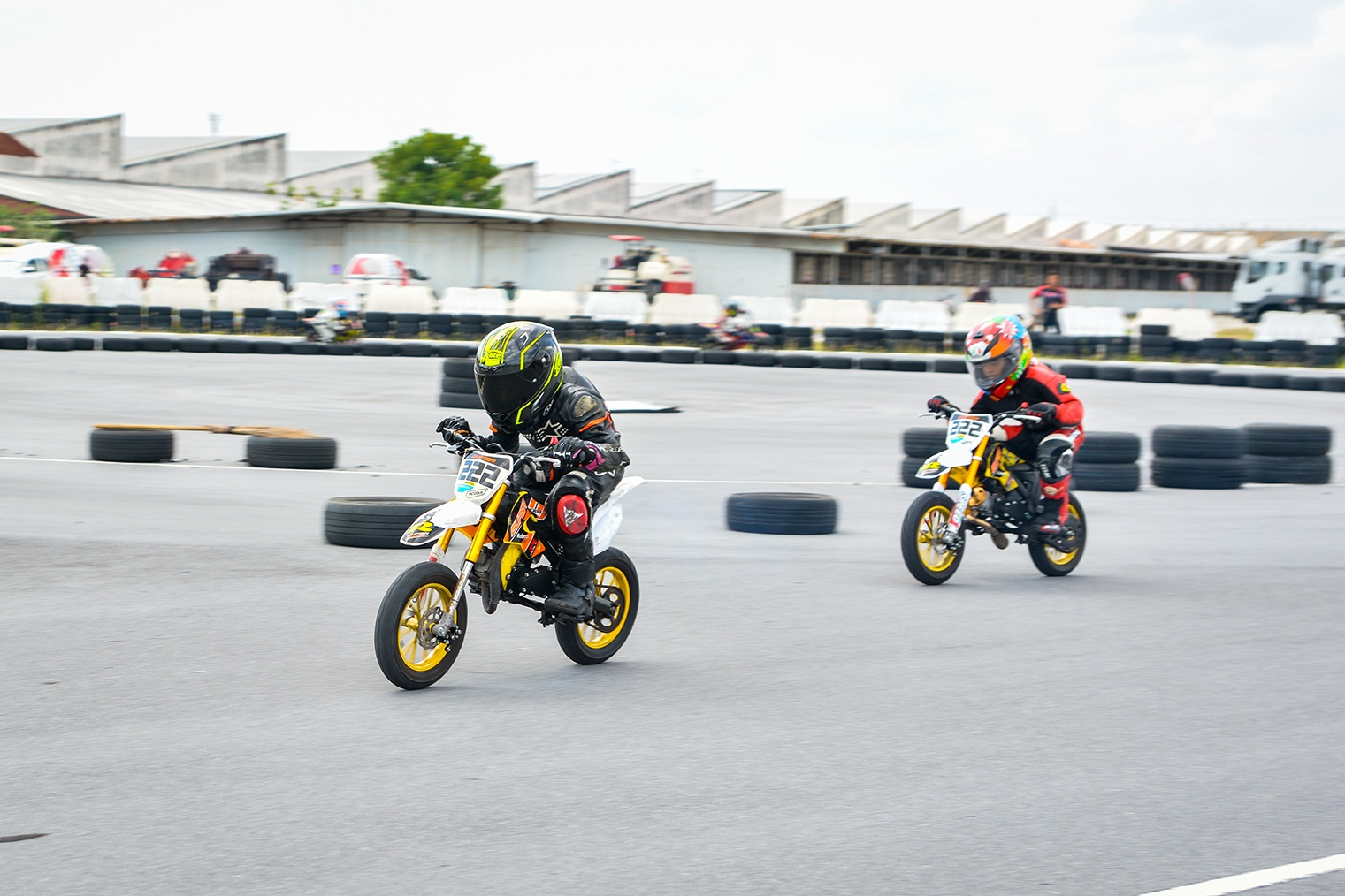Giai dua moto tre em o Thai Lan va nhung giac mo MotoGP hinh anh 36