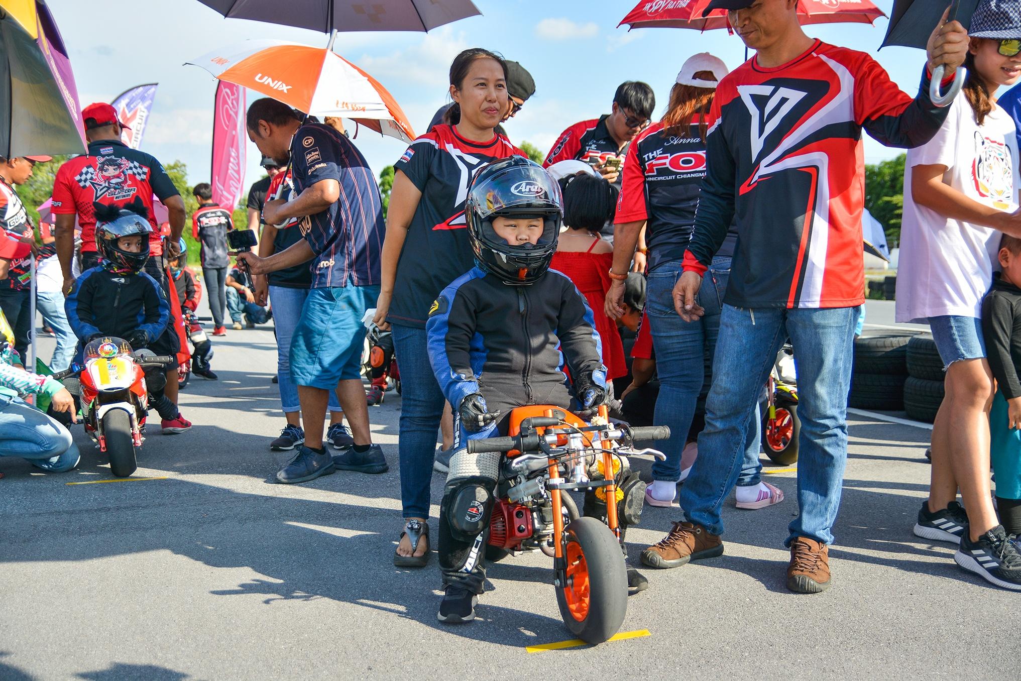 Giai dua moto tre em o Thai Lan va nhung giac mo MotoGP hinh anh 25