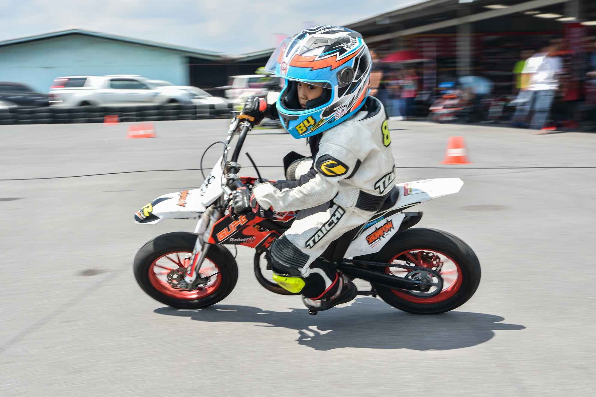 Giai dua moto tre em o Thai Lan va nhung giac mo MotoGP hinh anh 30