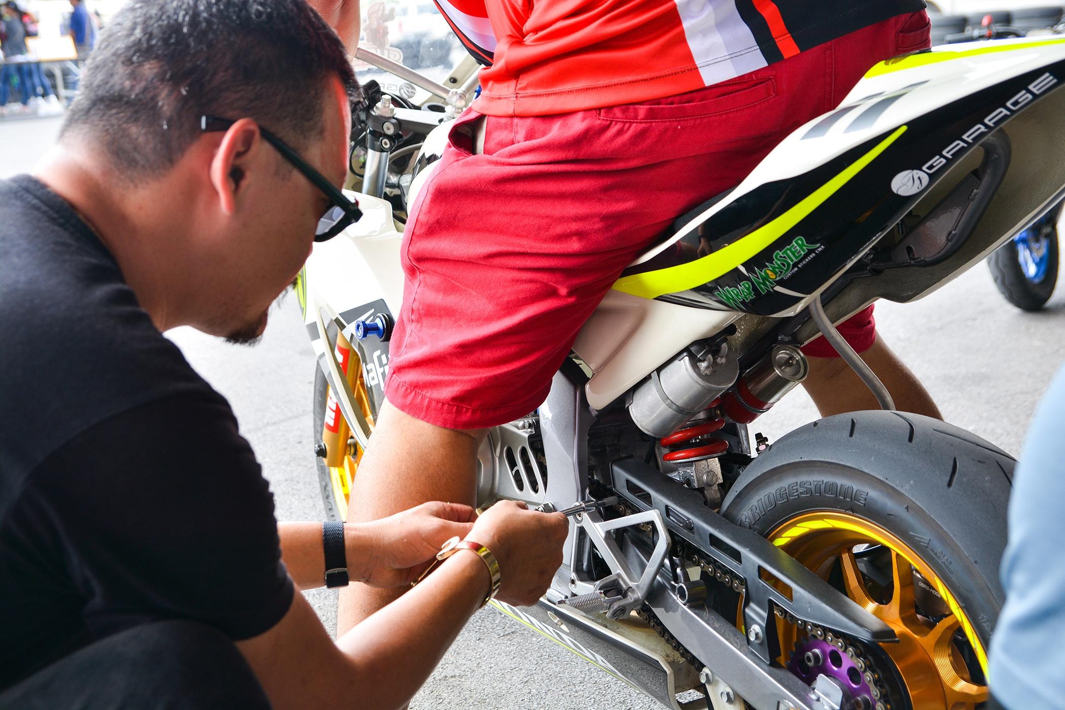 Giai dua moto tre em o Thai Lan va nhung giac mo MotoGP hinh anh 4