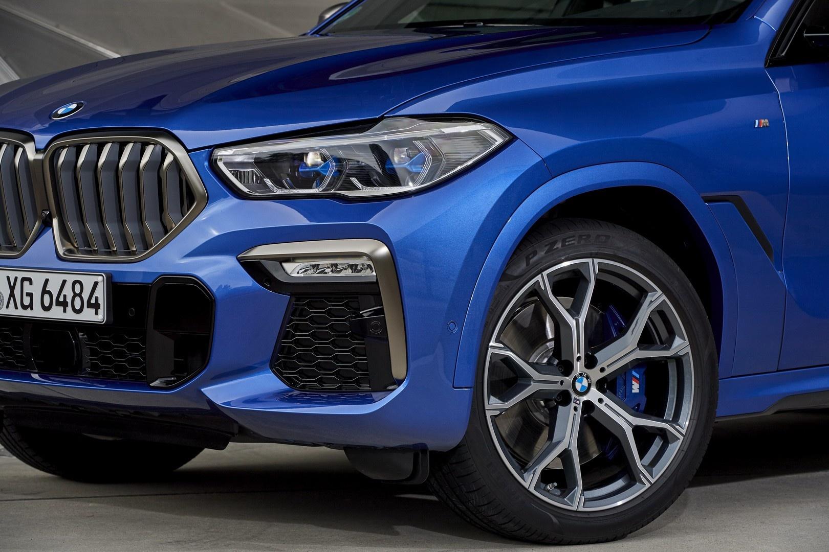 BMW X6 2020 - SUV voi suc manh sieu xe hinh anh 12