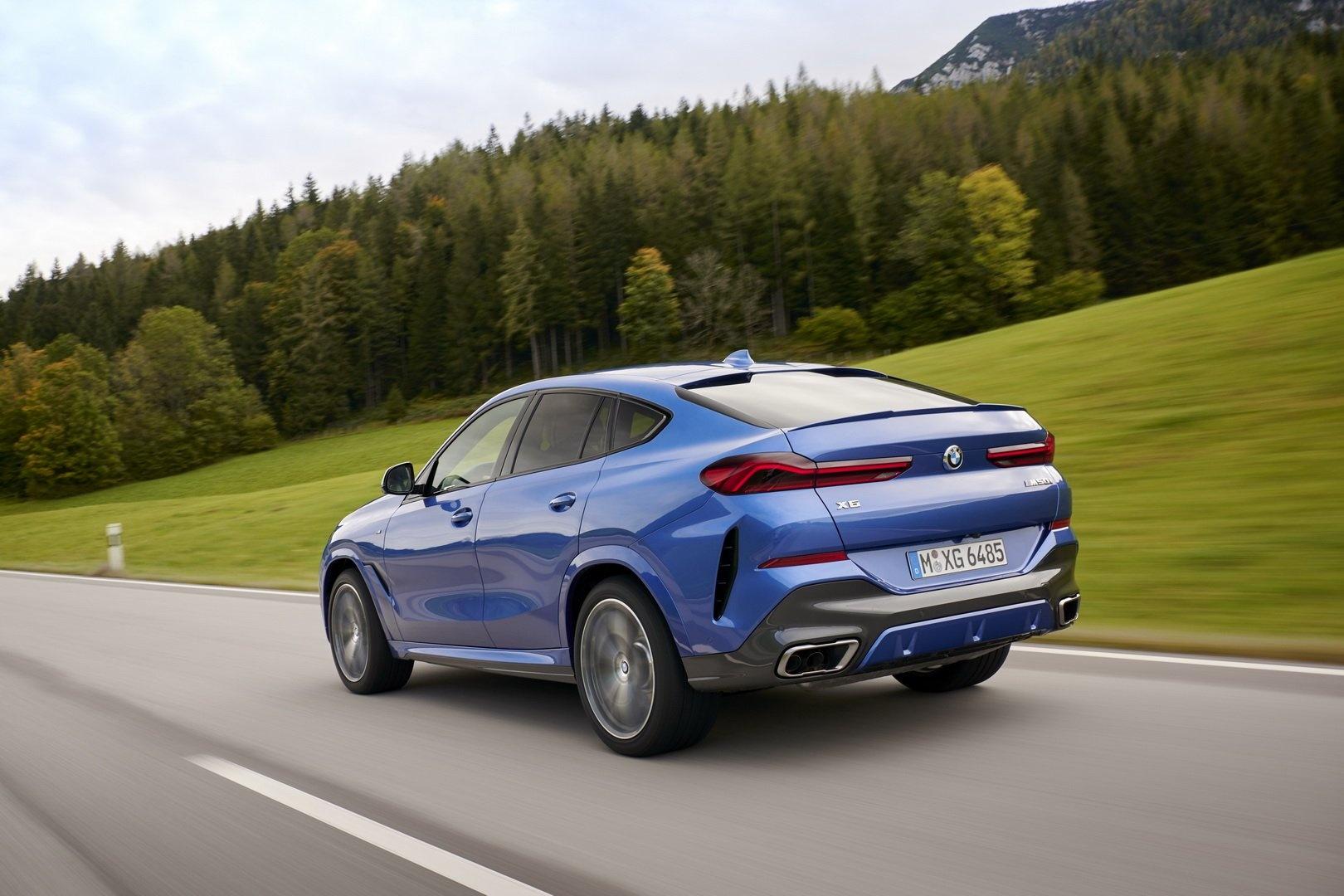 BMW X6 2020 - SUV voi suc manh sieu xe hinh anh 5