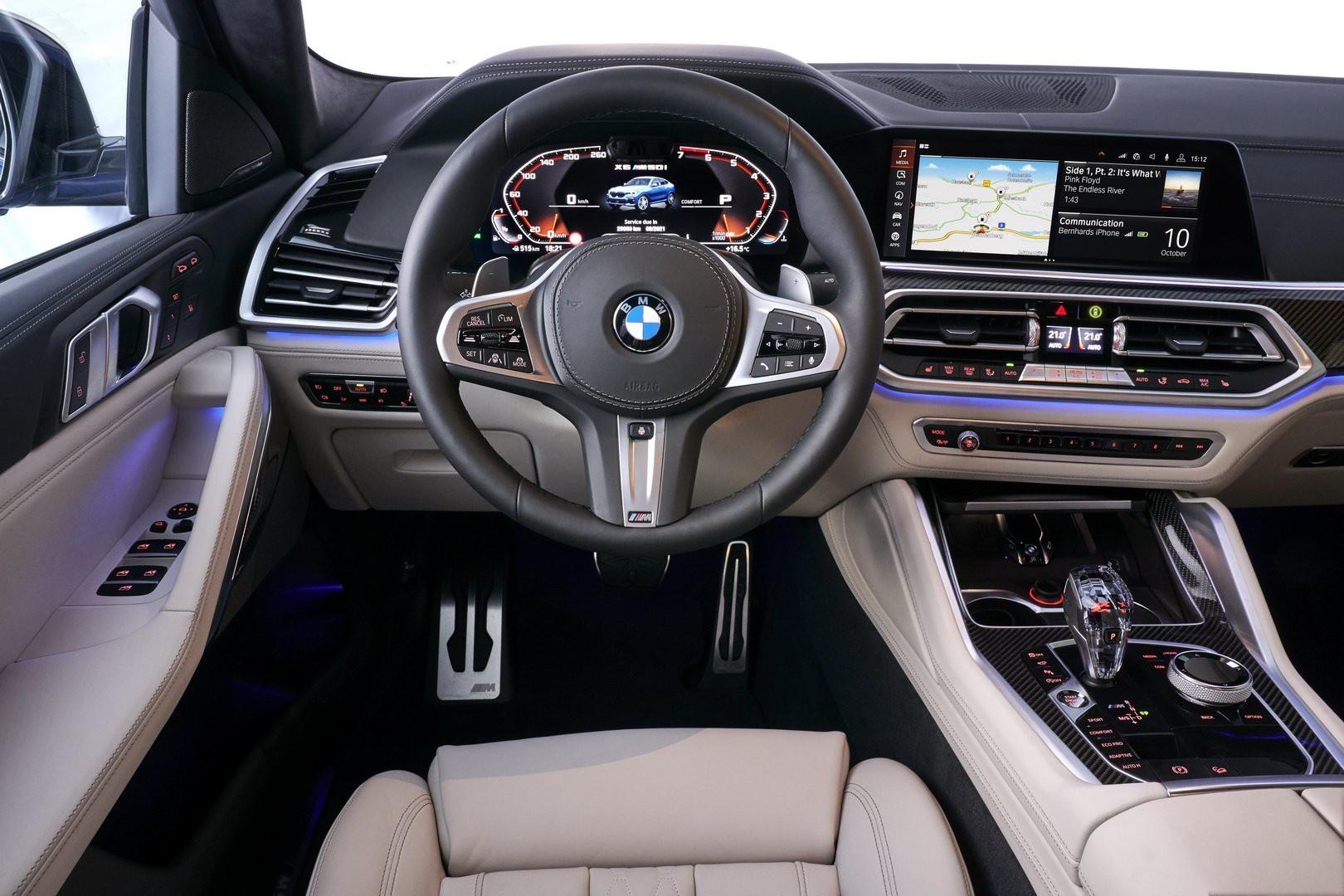BMW X6 2020 - SUV voi suc manh sieu xe hinh anh 22