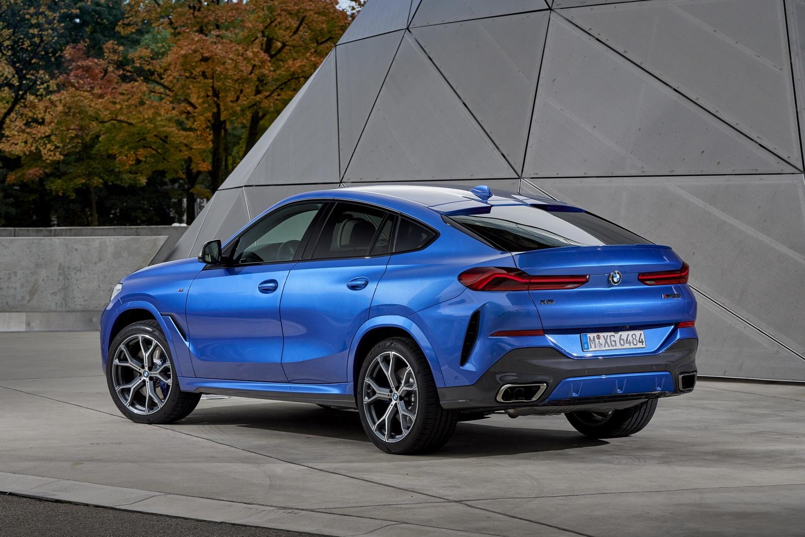 BMW X6 2020 - SUV voi suc manh sieu xe hinh anh 8
