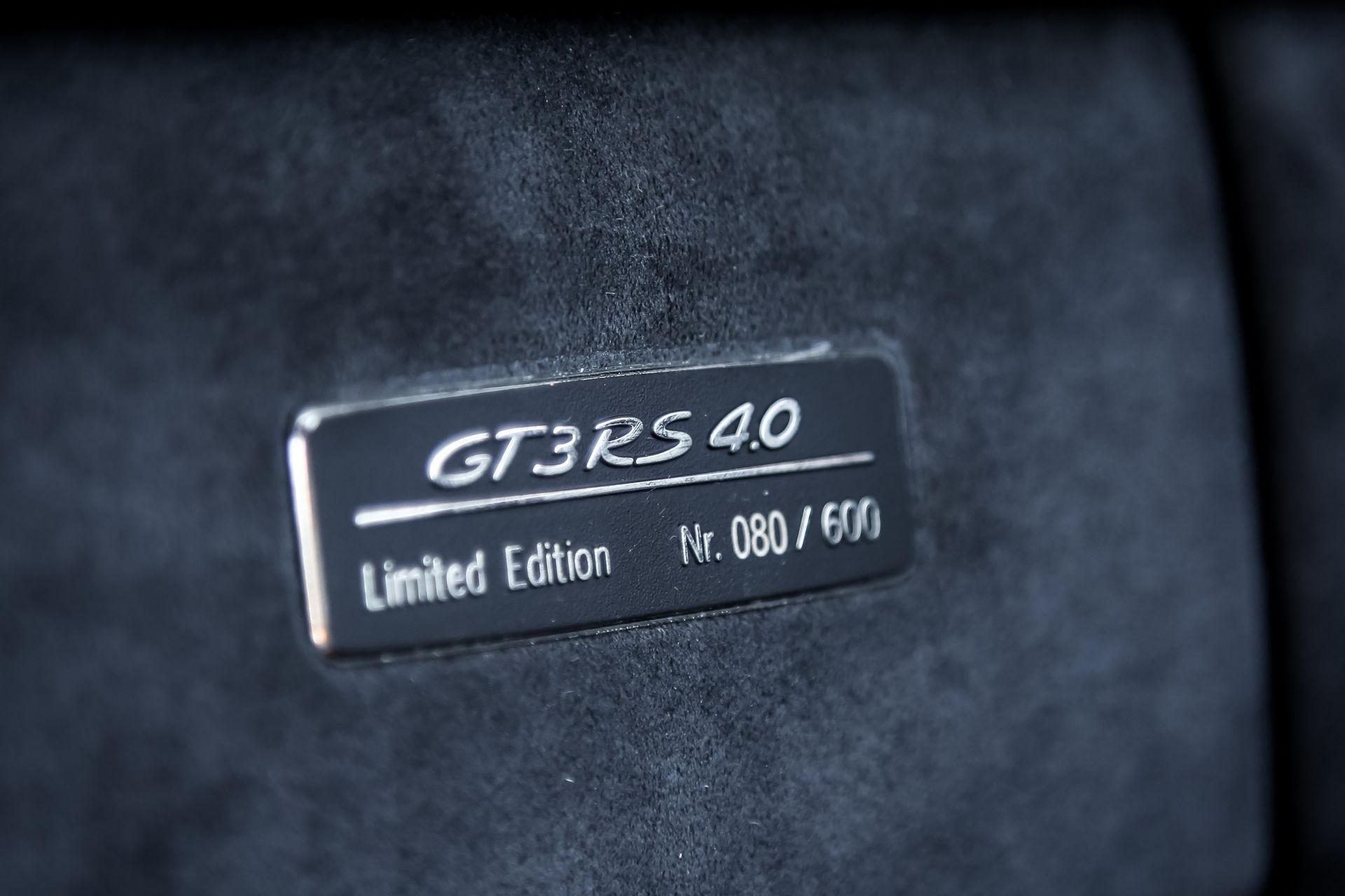 Ngam nhin Porsche 911 GT3 RS 4.0 2011 phien ban gioi han dac biet anh 13