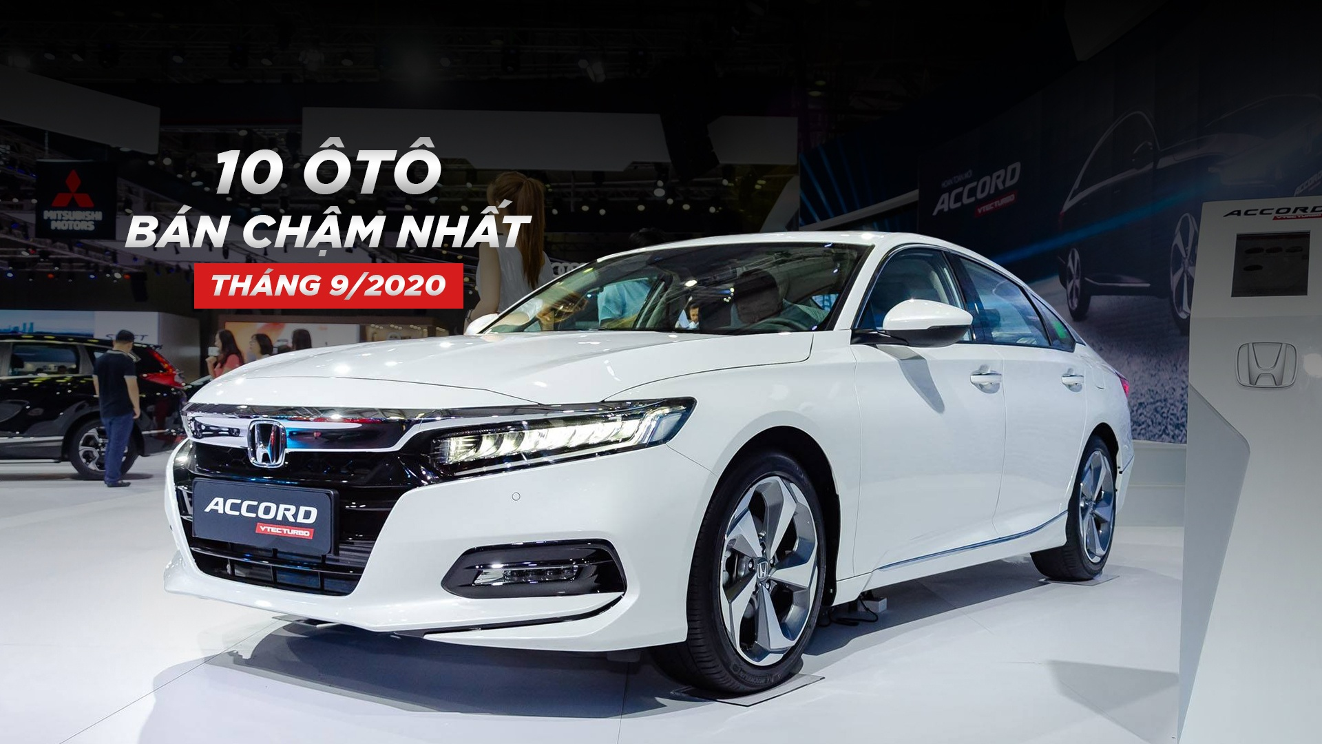 10 ôtô bán chậm nhất Việt Nam tháng 9/2020