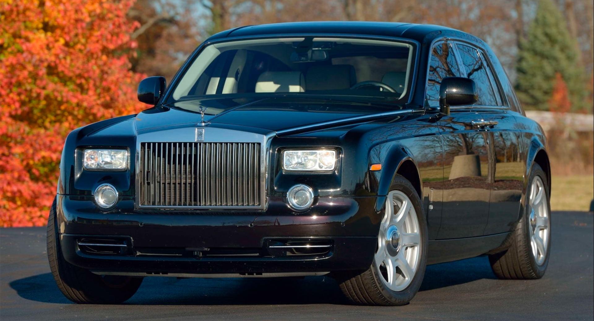 Chiếc Rolls-Royce Phantom cũ của ông Donald Trump được rao ...