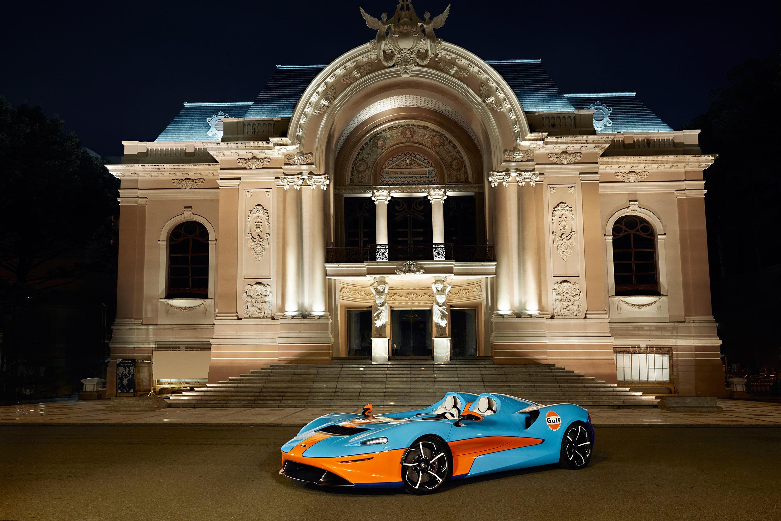 McLaren Elva xuat hien tai TP.HCM cung Minh Nhua anh 1