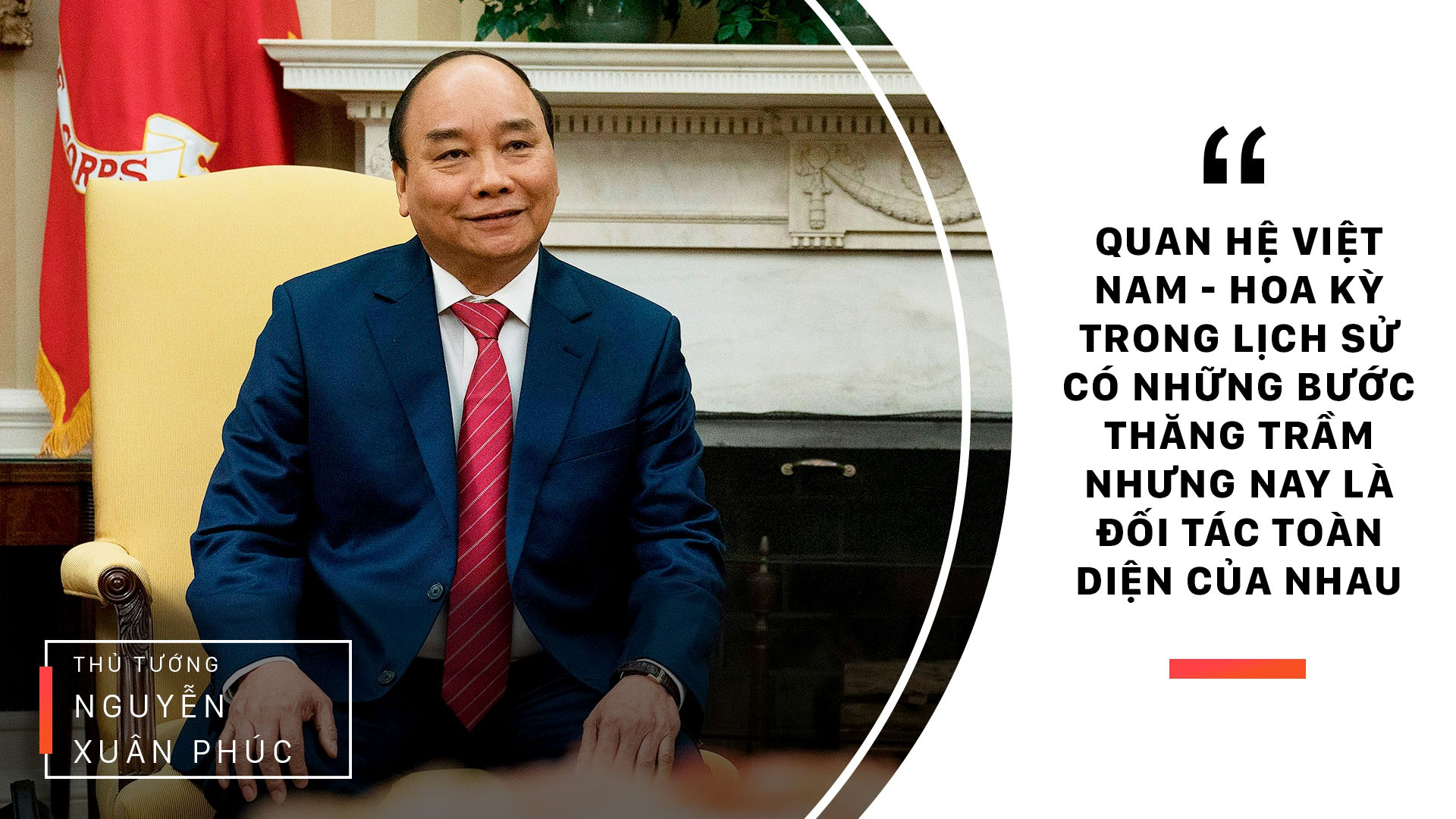 Thu tuong Nguyen Xuan Phuc gap Tong thong Trump anh 6