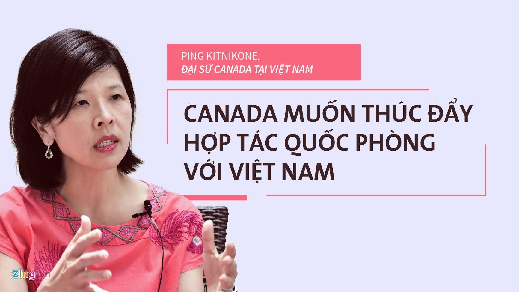quan he Viet Nam - Canada anh 1
