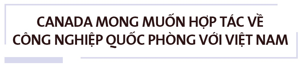 Canada muon thuc day hop tac quoc phong voi Viet Nam hinh anh 2