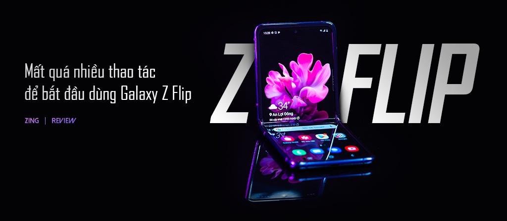 danh gia galaxy Z Flip anh 1