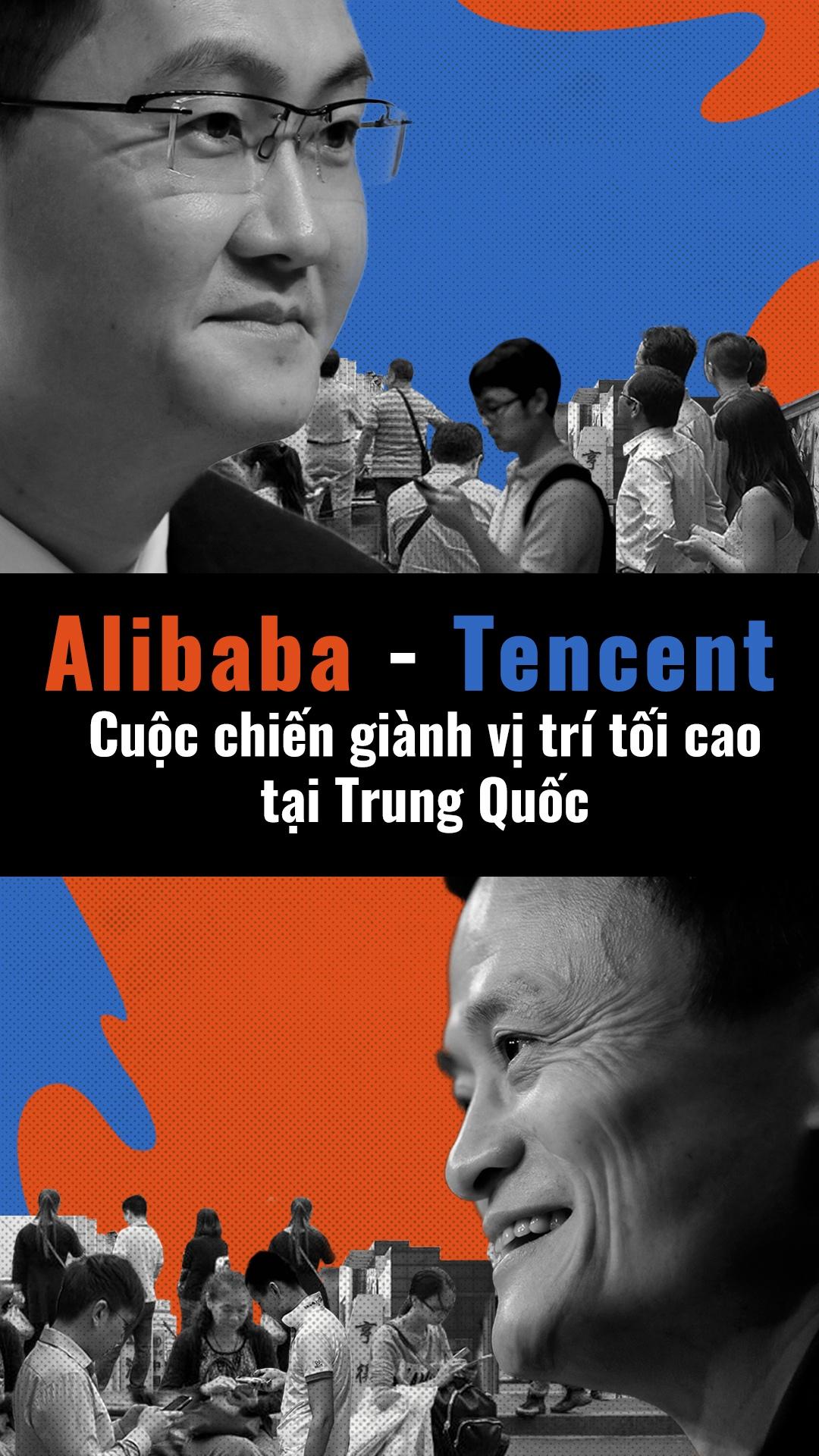 Alibaba dau Tencent - cuoc chien gianh ngoi vuong tai Trung Quoc hinh anh 1