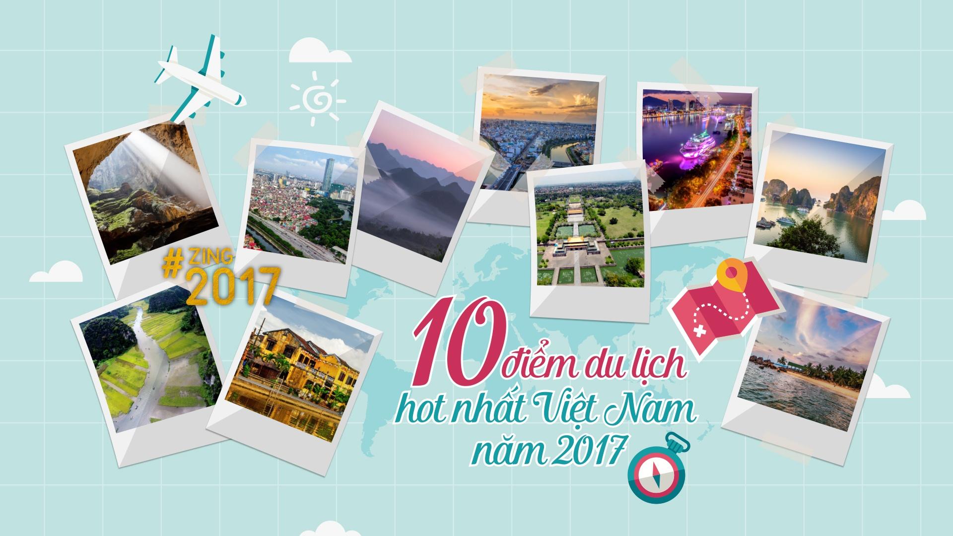 10 dia diem du lich hot nhat Viet Nam 2017 hinh anh 1