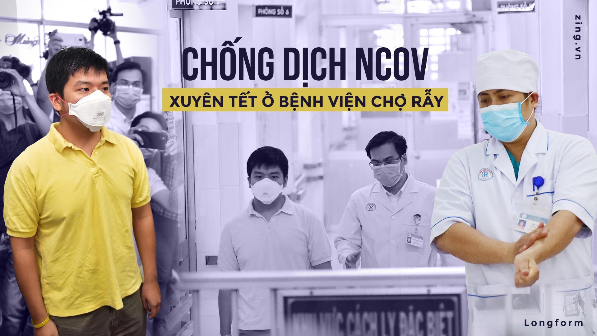Chong dich nCoV Benh vien Cho Ray anh 1