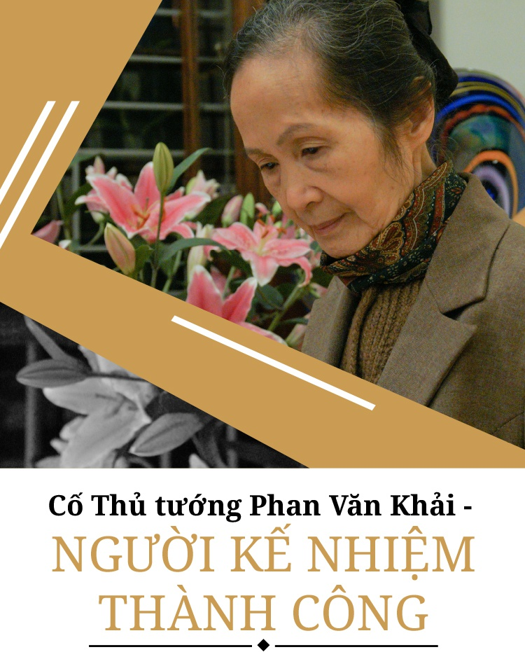 Co Thu tuong Phan Van Khai - nguoi ke nhiem thanh cong hinh anh 1