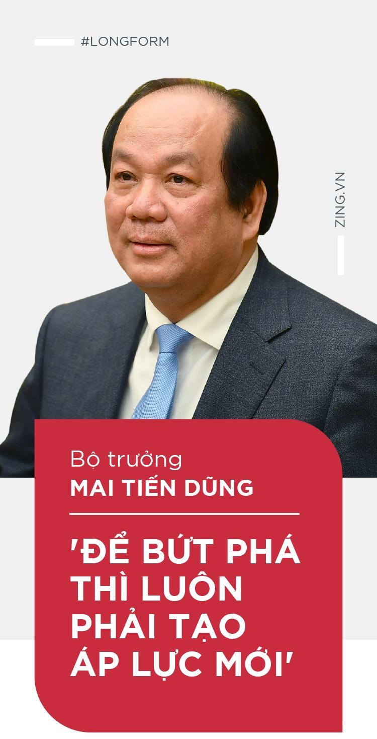 Bo truong Mai Tien Dung: 'De but pha thi luon phai tao ap luc moi' hinh anh 1
