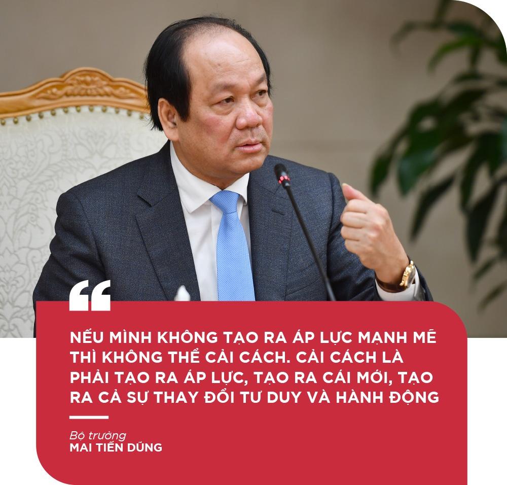 Bo truong Mai Tien Dung: 'De but pha thi luon phai tao ap luc moi' hinh anh 13