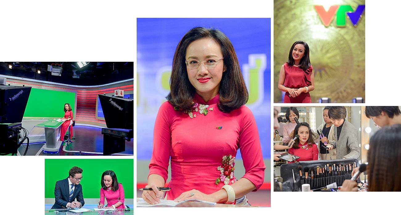 Hoai Anh cua Thoi su VTV: 'Dung, toi la mot bien tap vien giau co' hinh anh 7