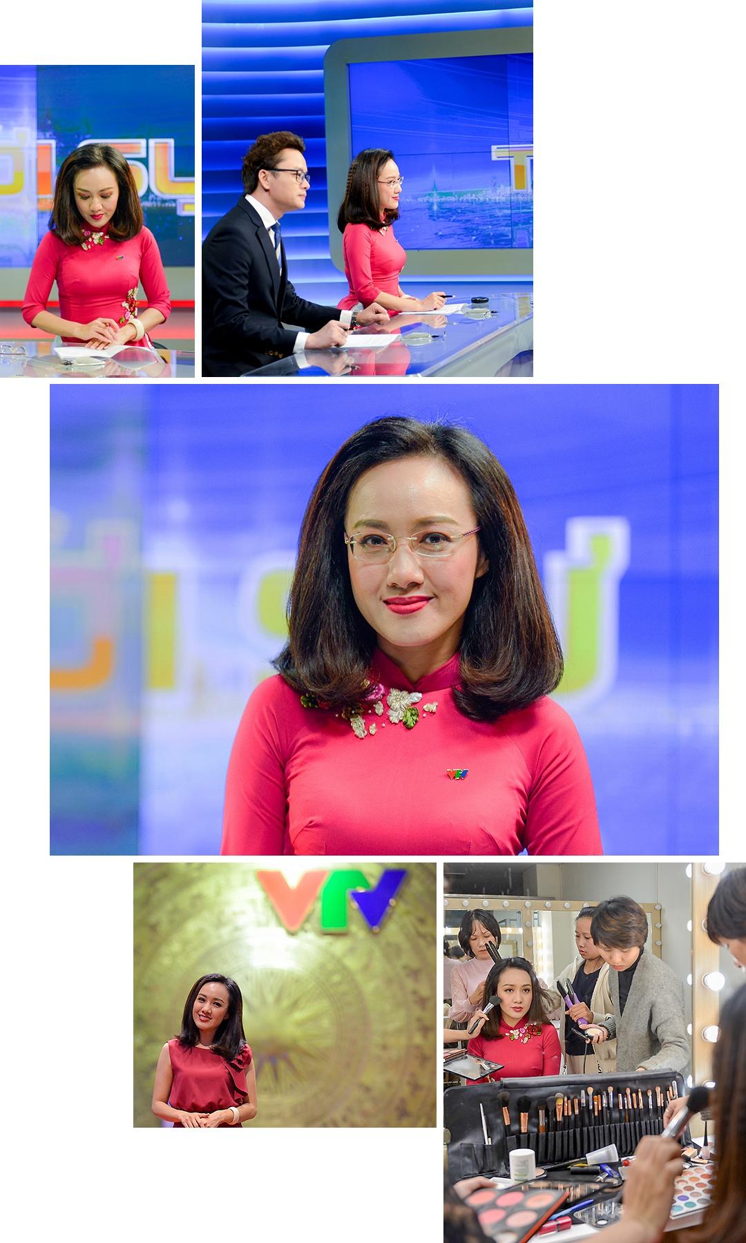 Hoai Anh cua Thoi su VTV: 'Dung, toi la mot bien tap vien giau co' hinh anh 6