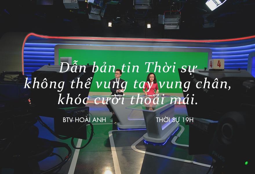 Hoai Anh cua Thoi su VTV: 'Dung, toi la mot bien tap vien giau co' hinh anh 10