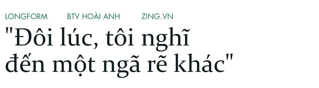 Hoai Anh cua Thoi su VTV: 'Dung, toi la mot bien tap vien giau co' hinh anh 3