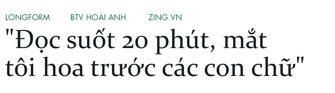 Hoai Anh cua Thoi su VTV: 'Dung, toi la mot bien tap vien giau co' hinh anh 8