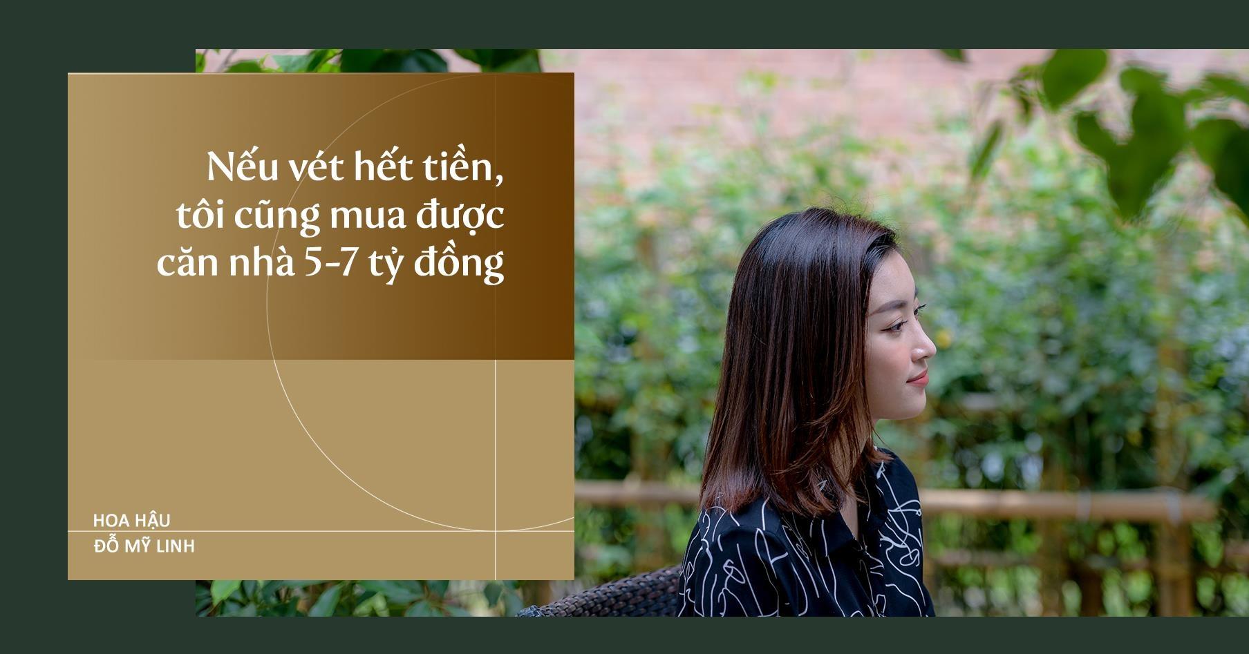 Hoa hau Do My Linh: 'Neu vet het tien toi cung mua duoc nha 7 ty dong' hinh anh 12