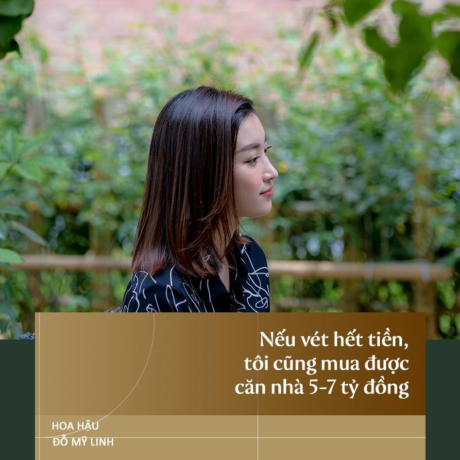 Hoa hau Do My Linh: 'Neu vet het tien toi cung mua duoc nha 7 ty dong' hinh anh 11