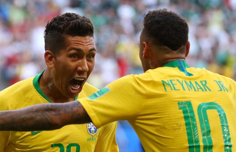 Neymar ghi ban va kien tao, Brazil vao tu ket World Cup hinh anh 1