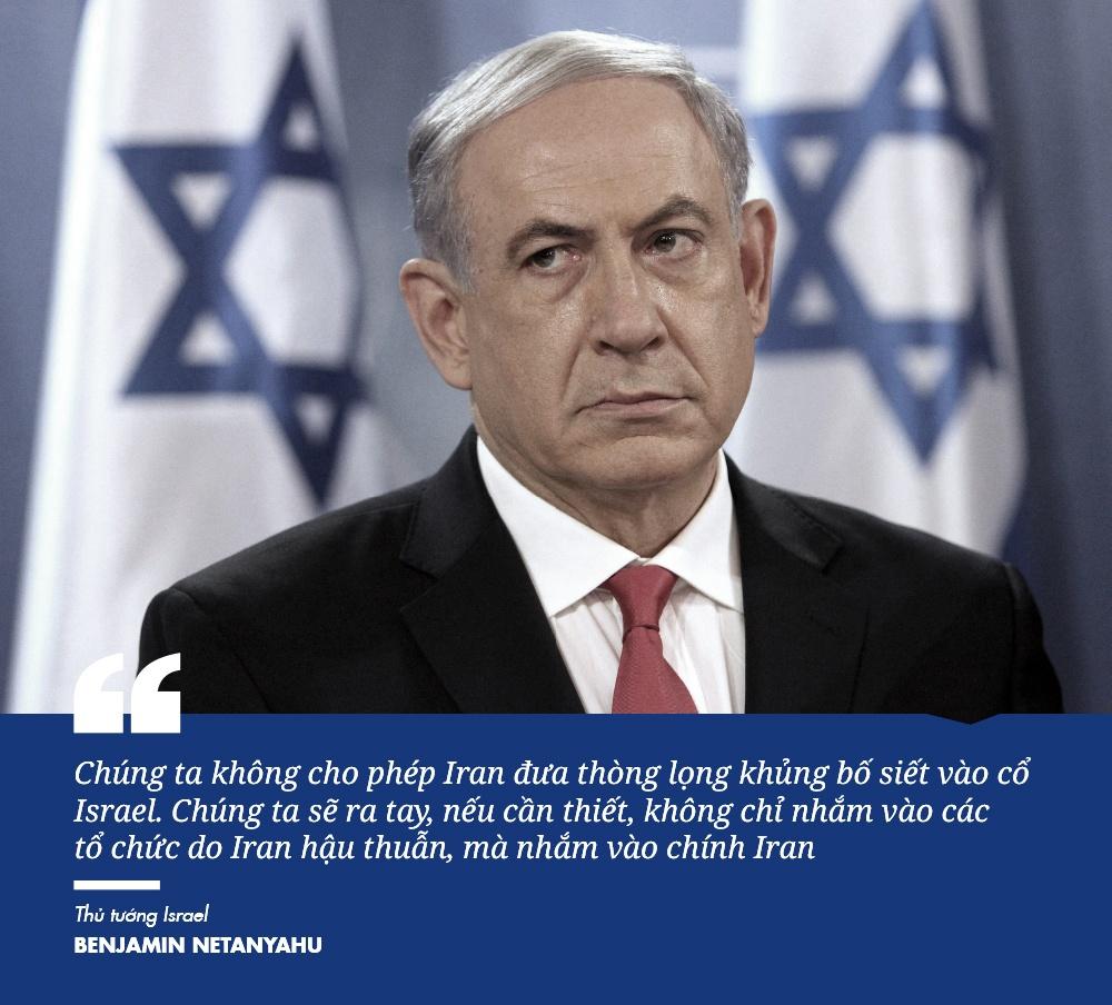Iran - Israel: Ben mieng ho chien tranh rung chuyen Trung Dong hinh anh 14