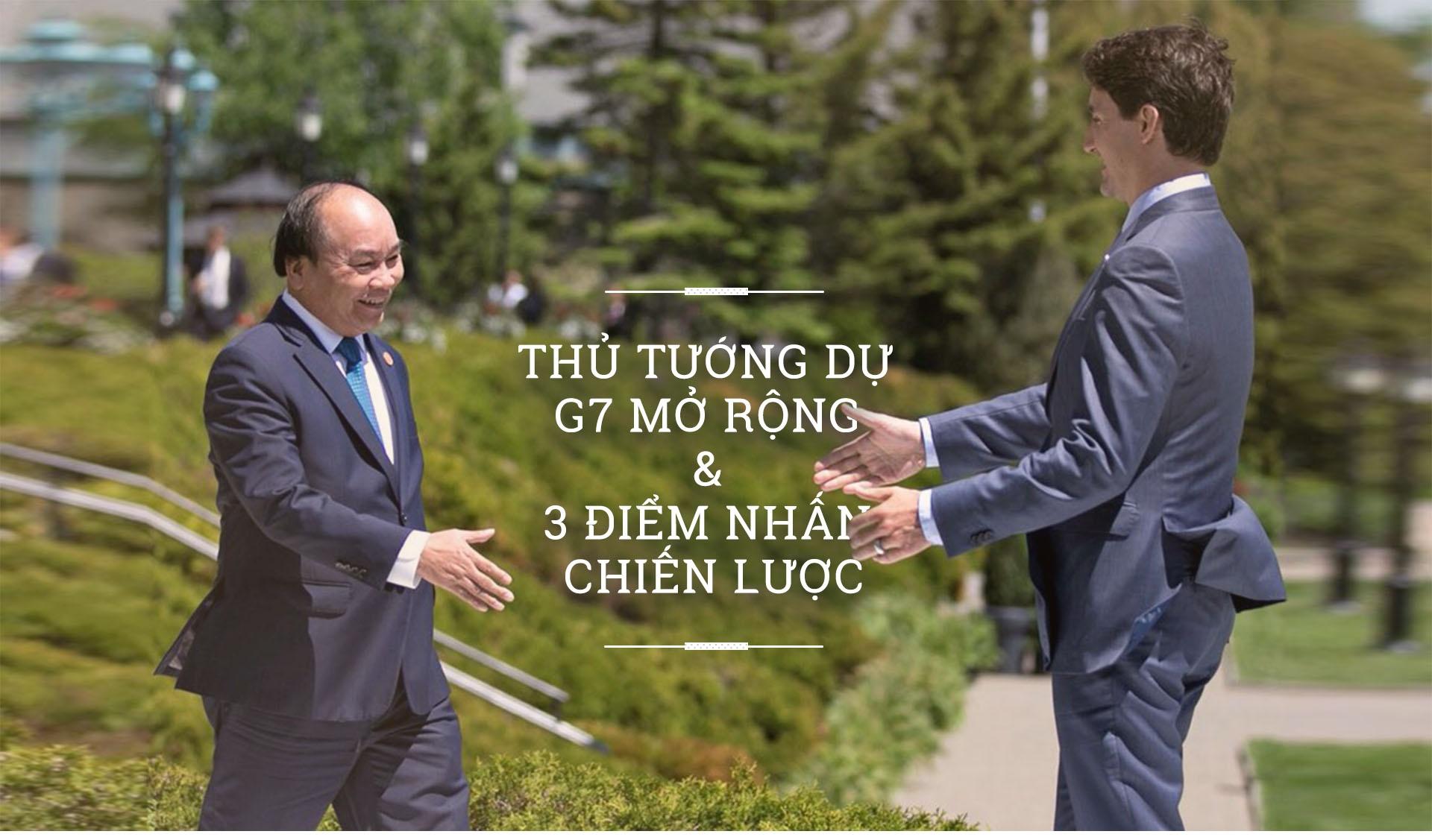 Thu tuong du G7 mo rong va 3 diem nhan chien luoc hinh anh 2