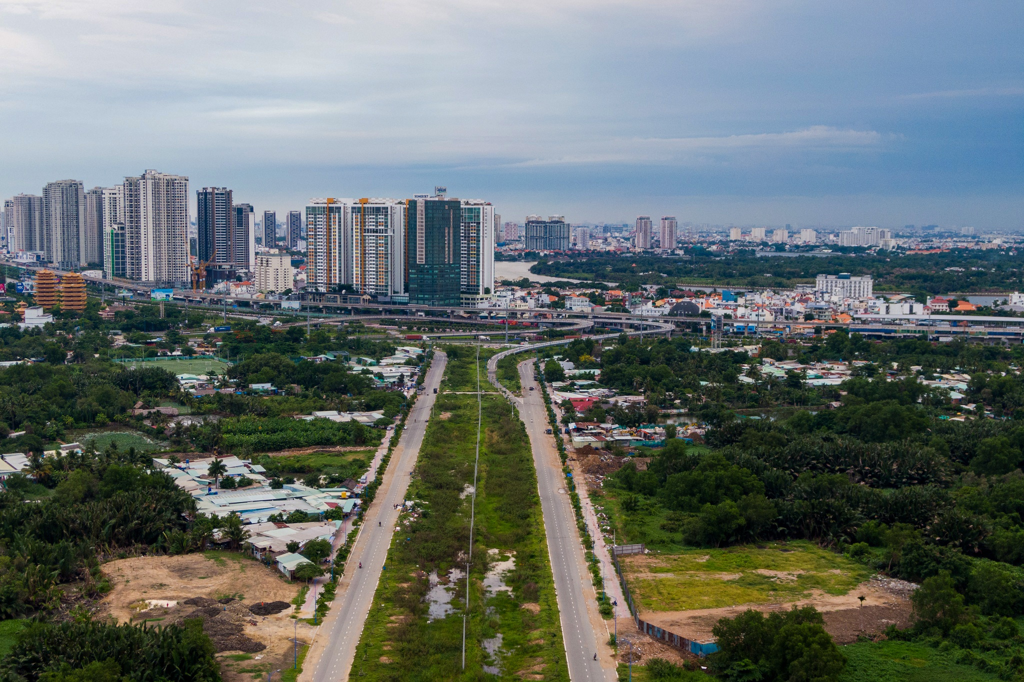 Tien do Saigon Sports City anh 2