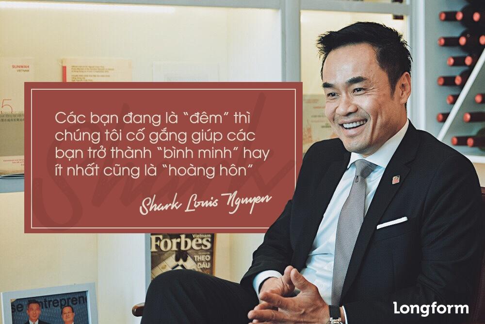 Shark Louis Nguyen: O Viet Nam, nhieu ban tre hung len la khoi nghiep hinh anh 4