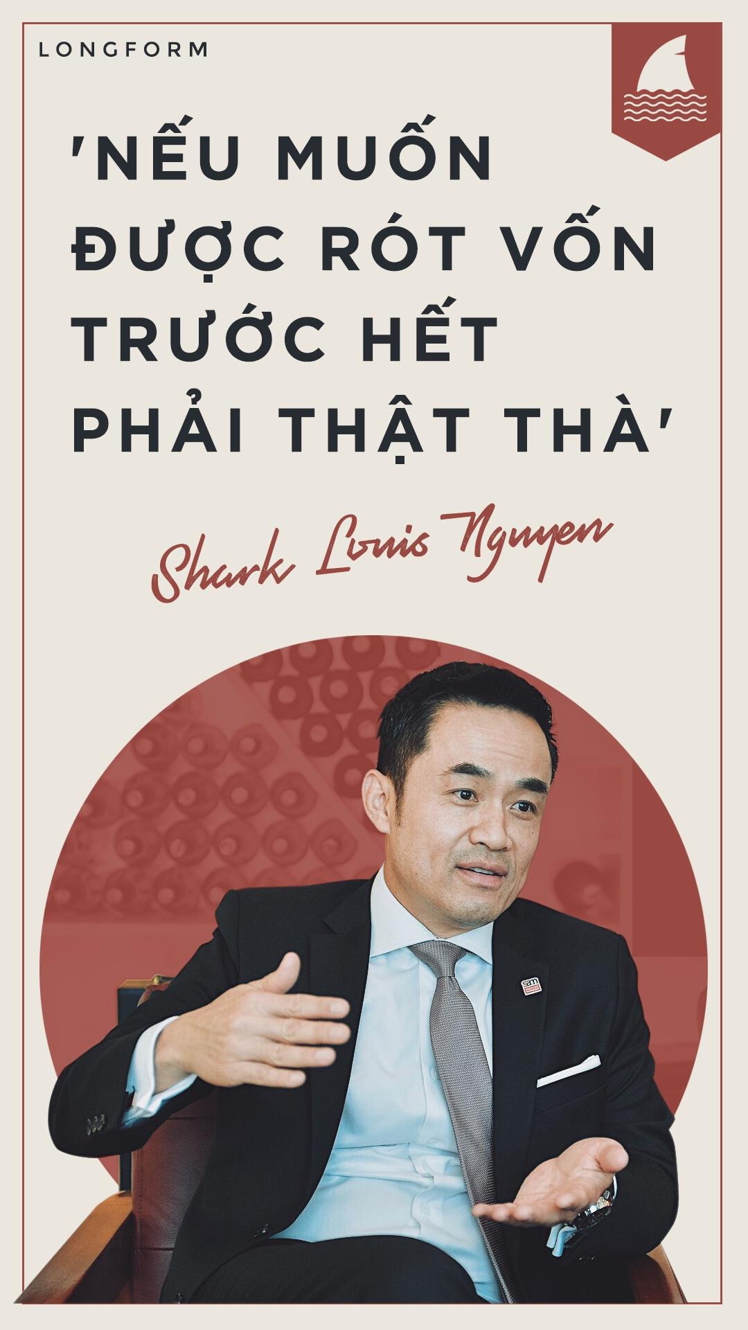 Shark Louis Nguyen: O Viet Nam, nhieu ban tre hung len la khoi nghiep hinh anh 1