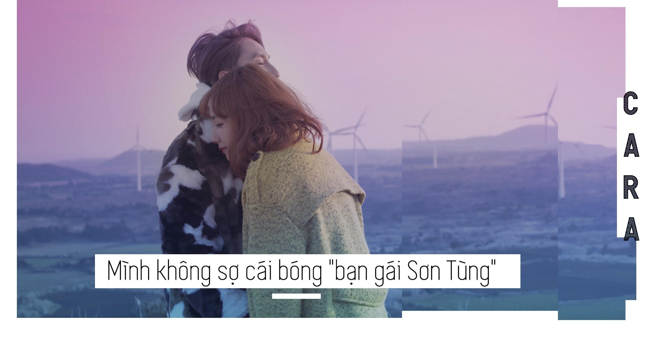 Cara: Minh se vuot qua cai bong 'ban gai Son Tung M-TP' hinh anh 7