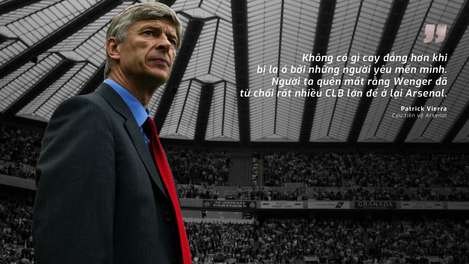 Wenger va Arsenal: Den vi dinh menh, gan bo vi tinh yeu hinh anh 7