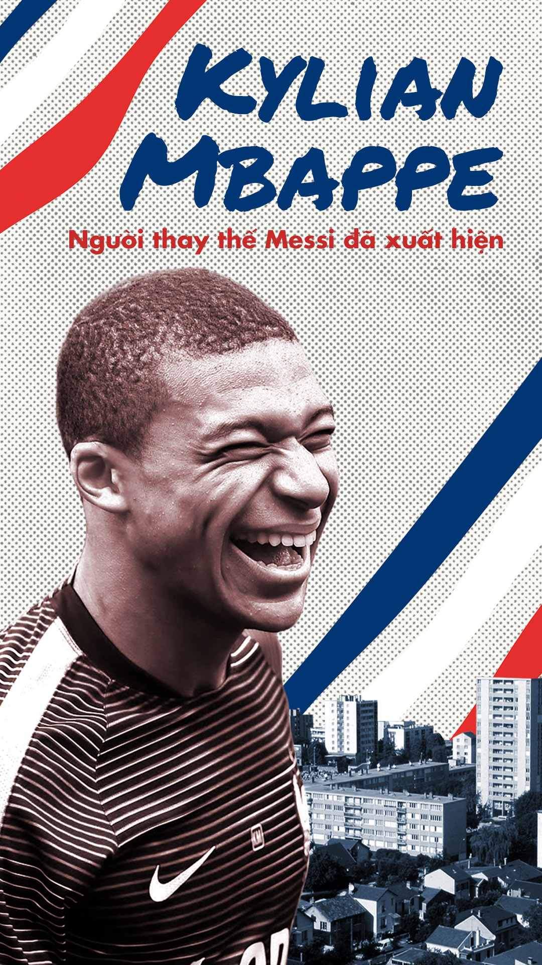 Kylian Mbappe, nguoi thay the Messi da xuat hien hinh anh 1