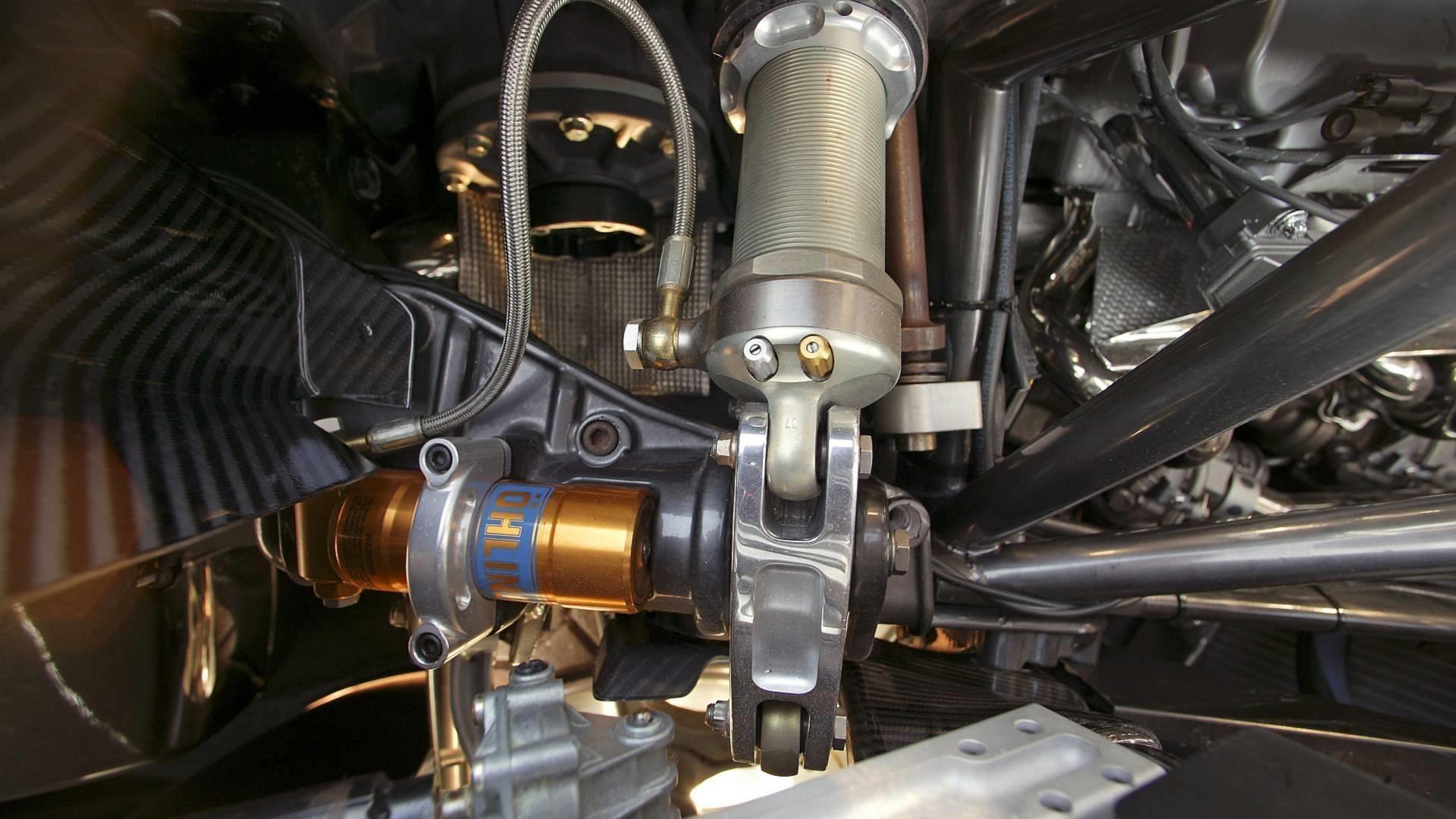Hệ thống treo trên ME Four-Twelve cũng thuộc hàng hiện đại nhất ở thời điểm đó.