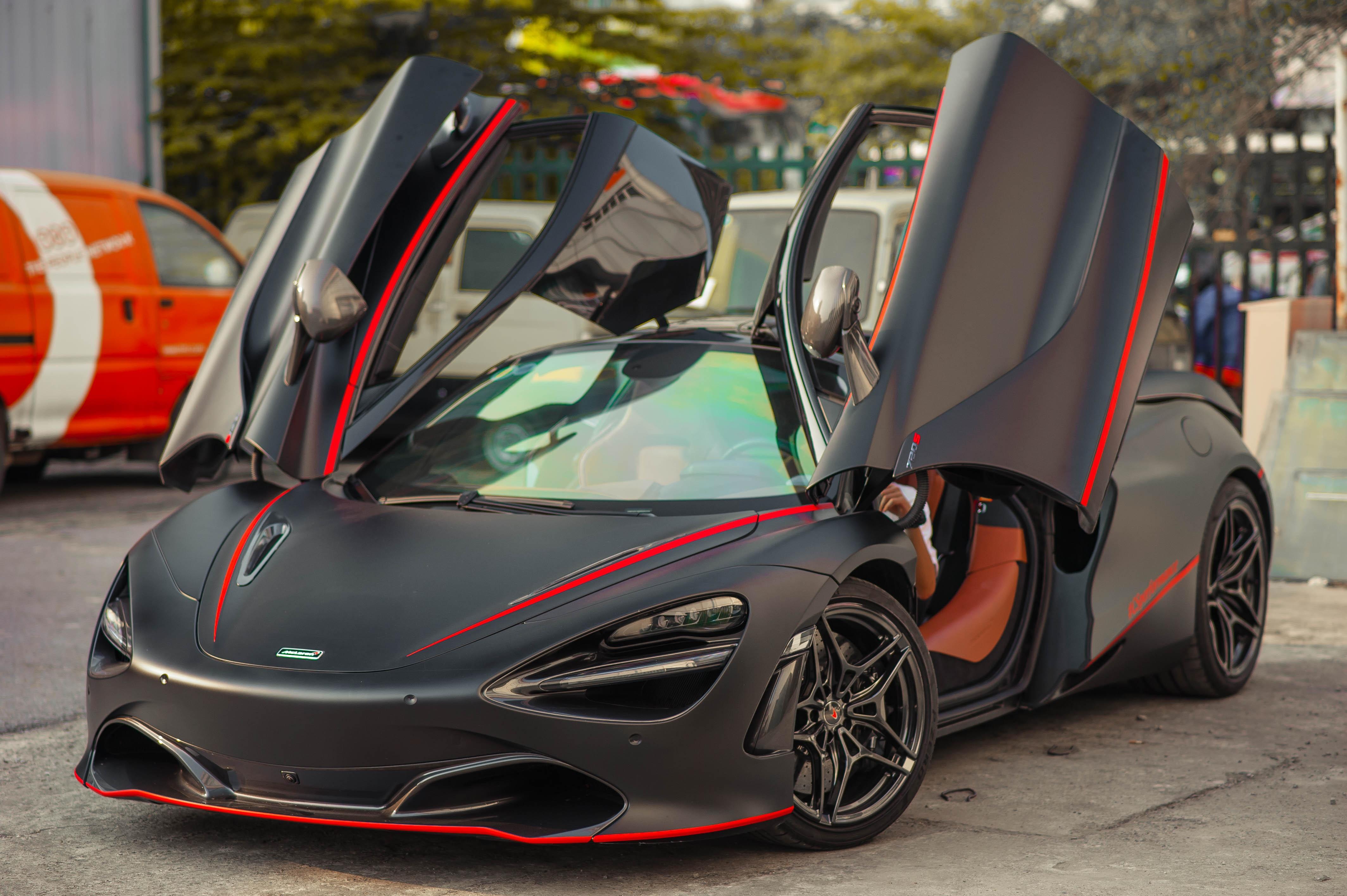 McLaren 720S dau tien Viet Nam lot xac anh 4