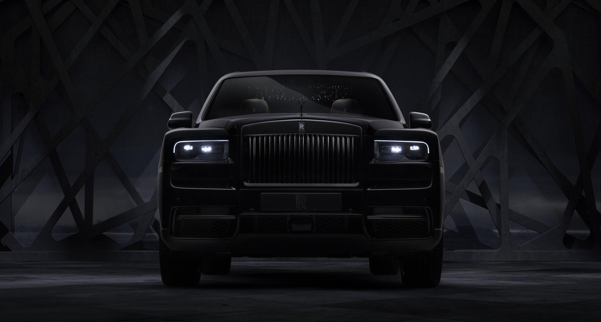 SUV sieu sang cua Rolls-Royce ban dac biet Black Badge ra mat hinh anh 4