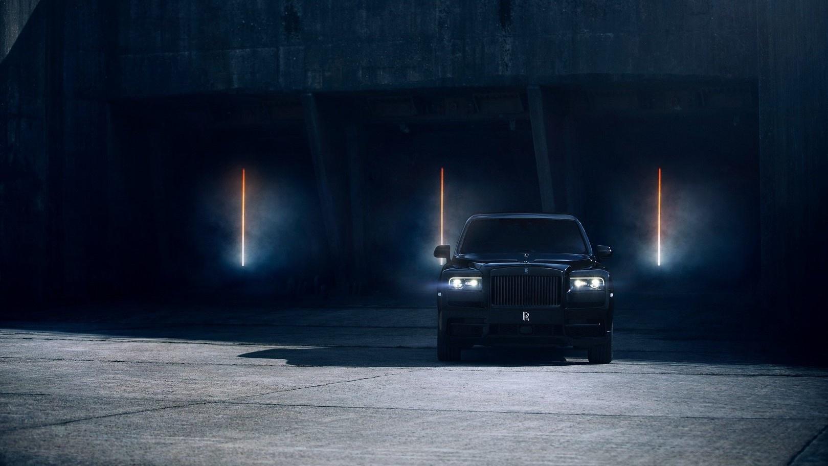SUV sieu sang cua Rolls-Royce ban dac biet Black Badge ra mat hinh anh 2