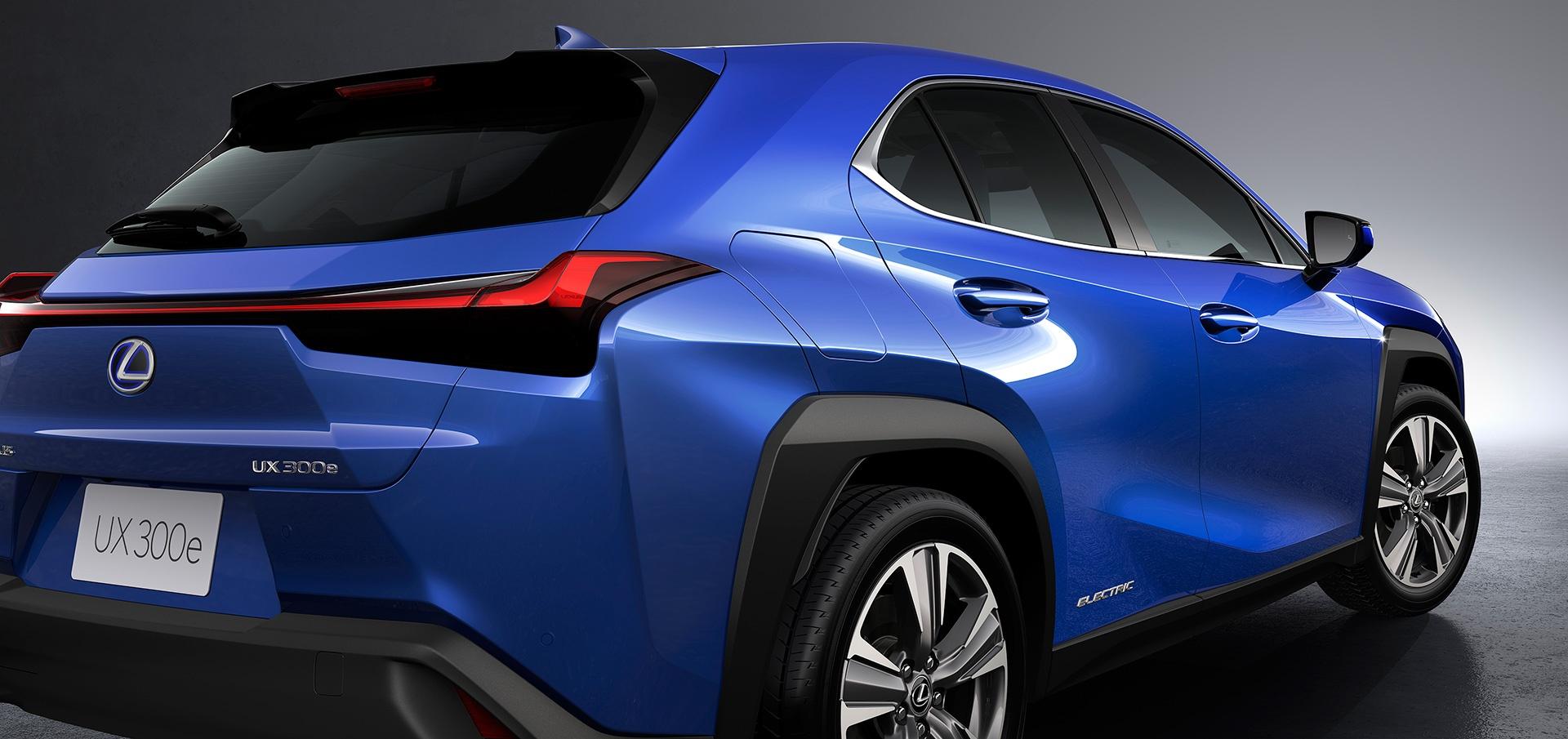 UX 300e - xe dien dau tien cua Lexus ra mat the gioi hinh anh 8
