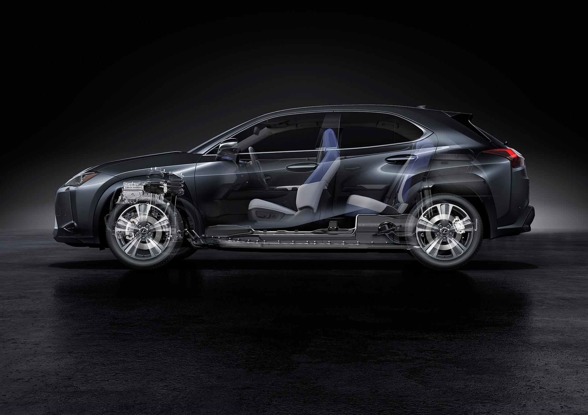 UX 300e - xe dien dau tien cua Lexus ra mat the gioi hinh anh 24