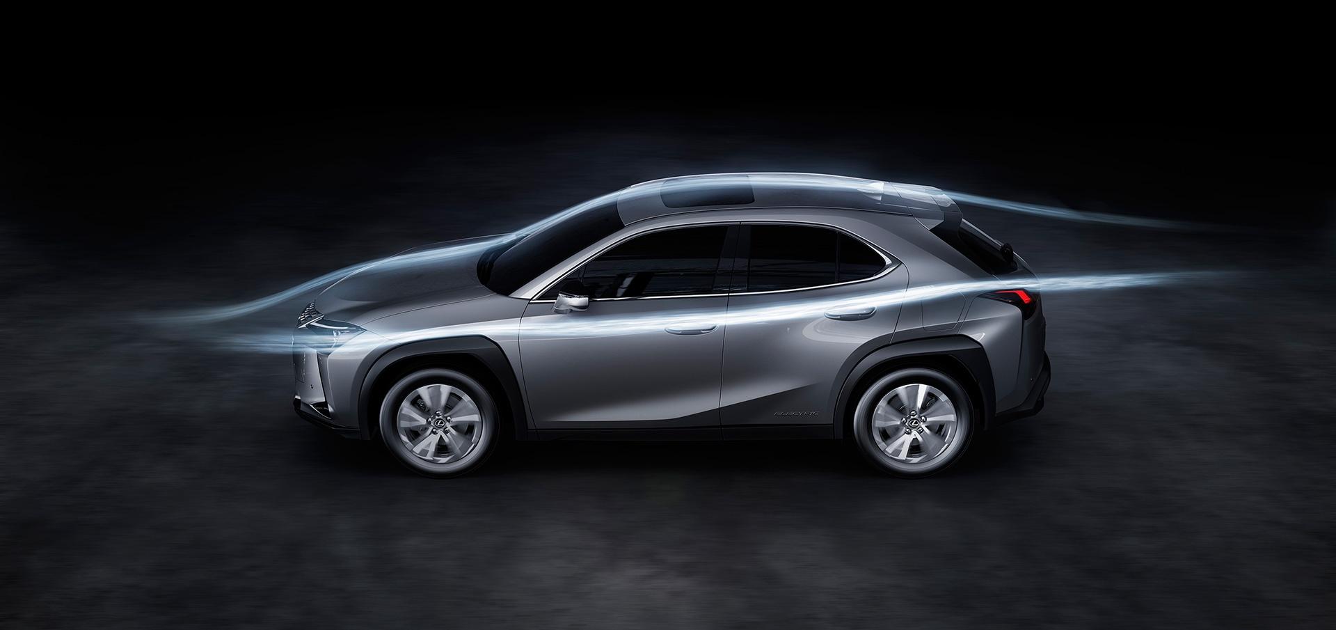 UX 300e - xe dien dau tien cua Lexus ra mat the gioi hinh anh 22
