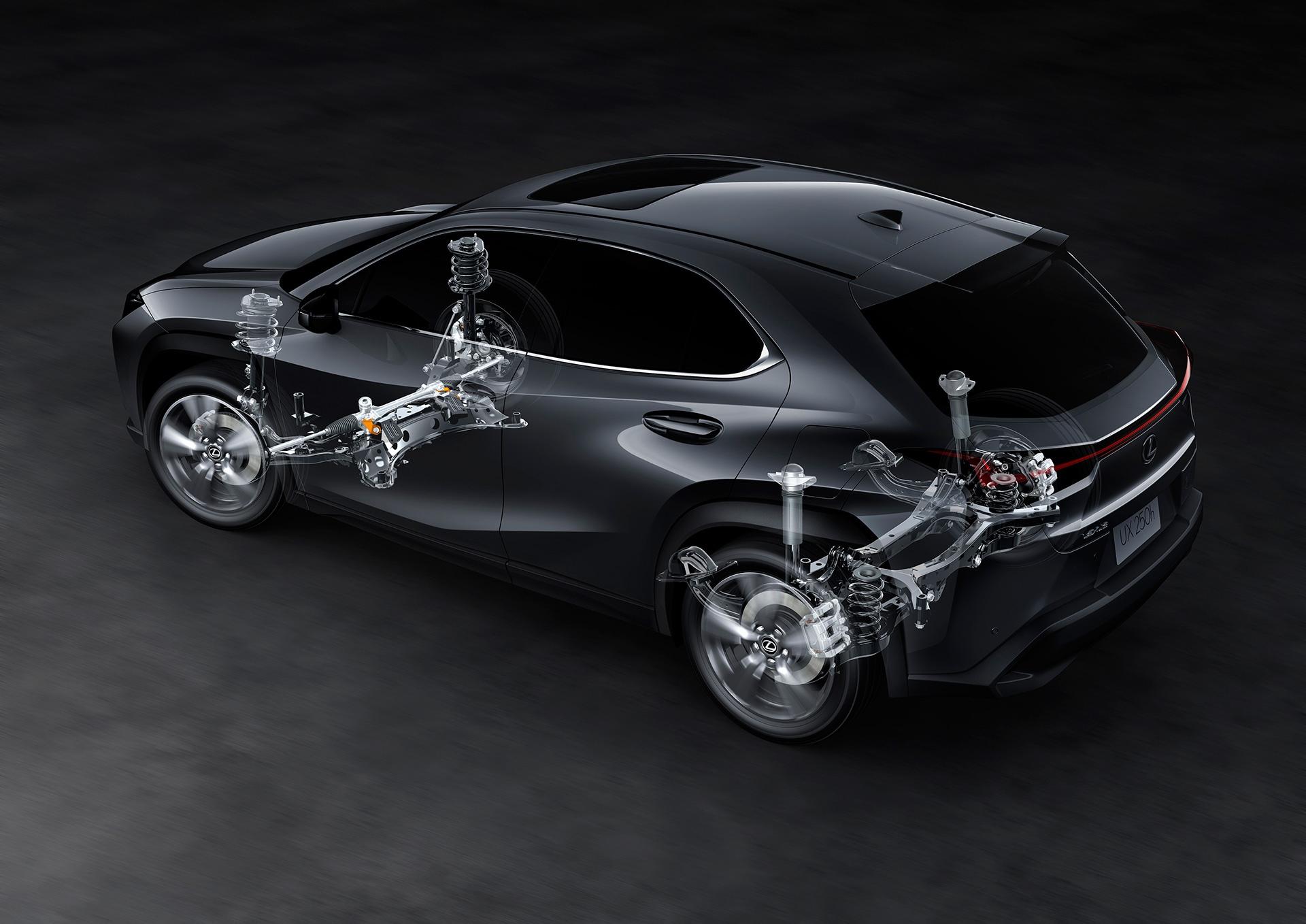 UX 300e - xe dien dau tien cua Lexus ra mat the gioi hinh anh 30