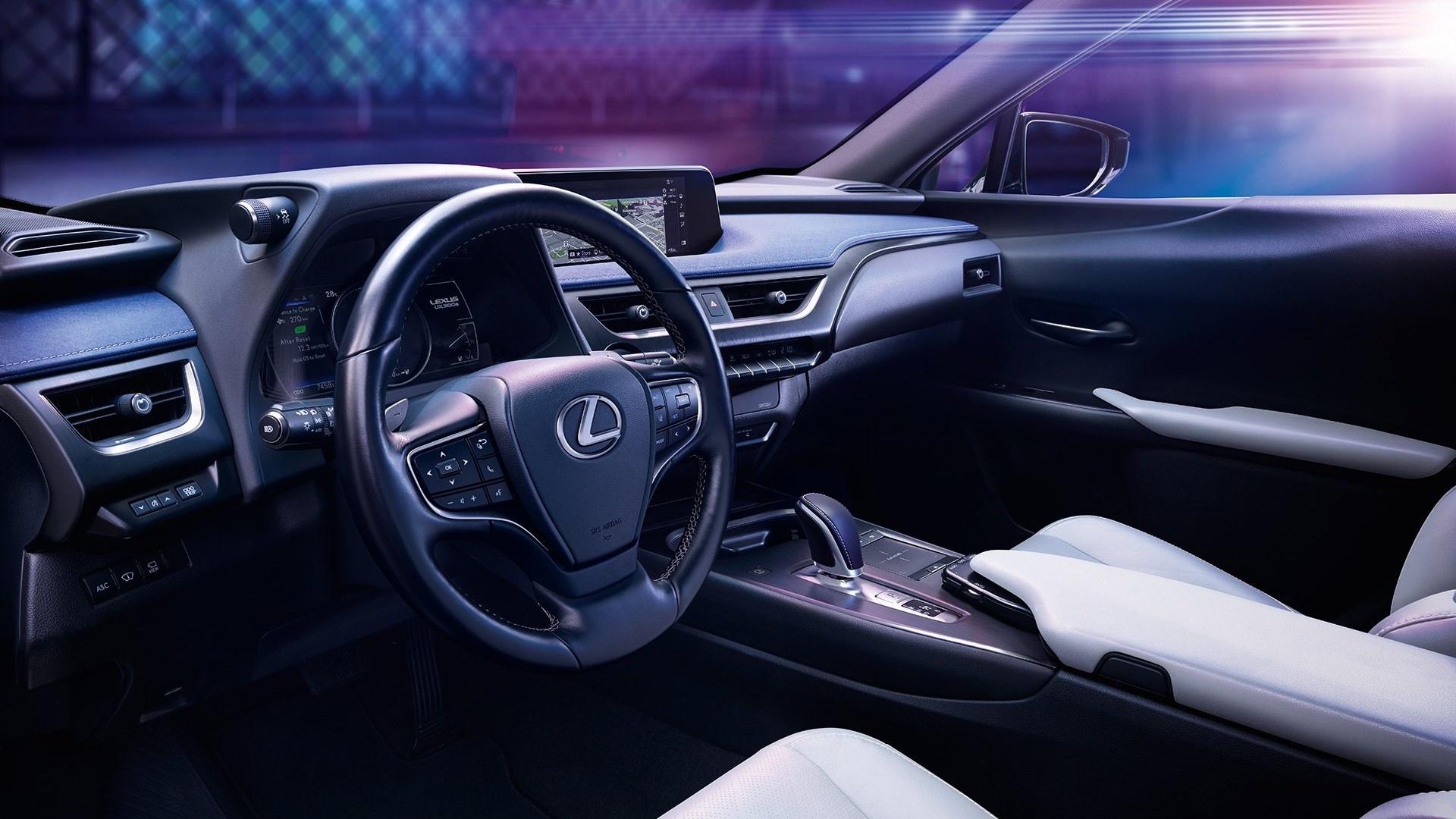 UX 300e - xe dien dau tien cua Lexus ra mat the gioi hinh anh 11
